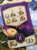 starke lila Karte