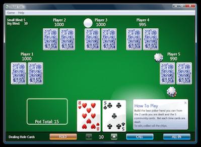 Texas holdem poker game hacked