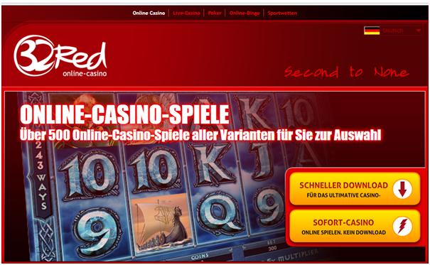32 red kasino