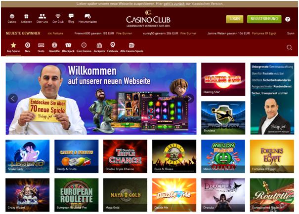 Kasino Club games