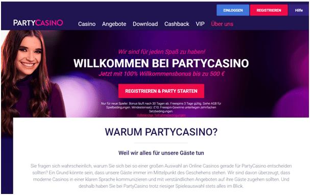 PartyKasino bonus