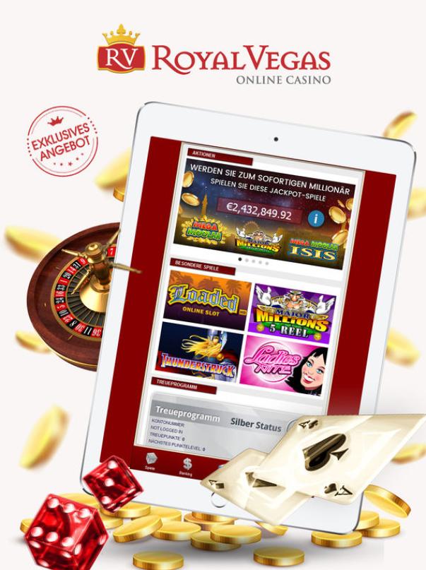 Royal Vegas Kasino mobil