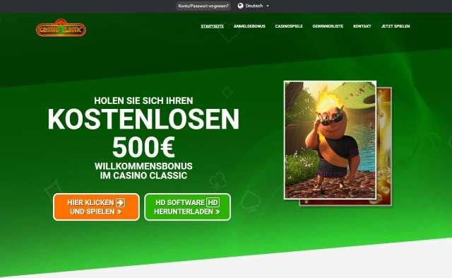 casino classic kostenlosen 500 euros