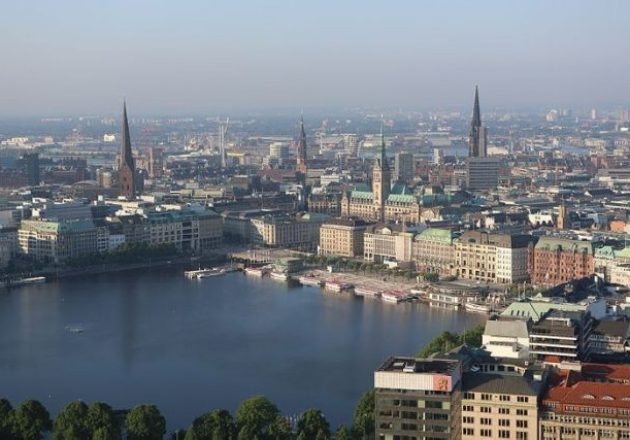 Die Hamburger Spielbank Esplanade liegt in direkter Nähe zu Hamburgs berühmter Binnenenalster