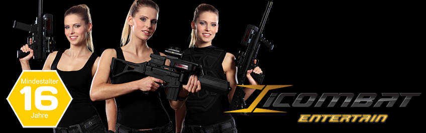 iCombat Entertain Lasertag System Berlin