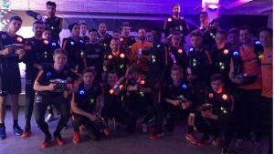Hertha BSC bei Lasergame Berlin Charlottenburg