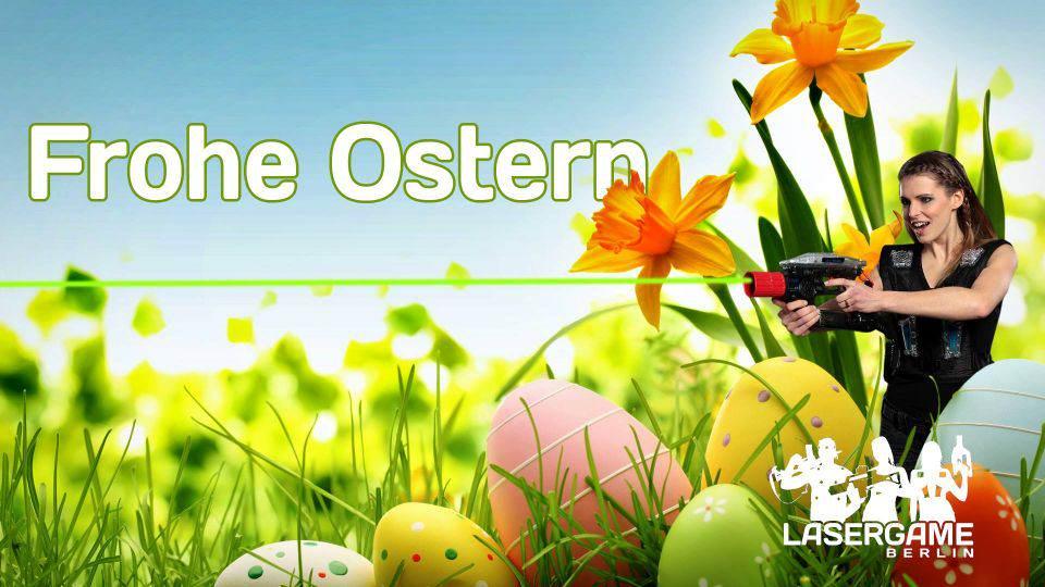 Lasertag Ostern