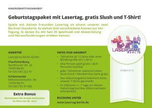 Kindergeburtstag Berlin Lasertag Geburtstag
