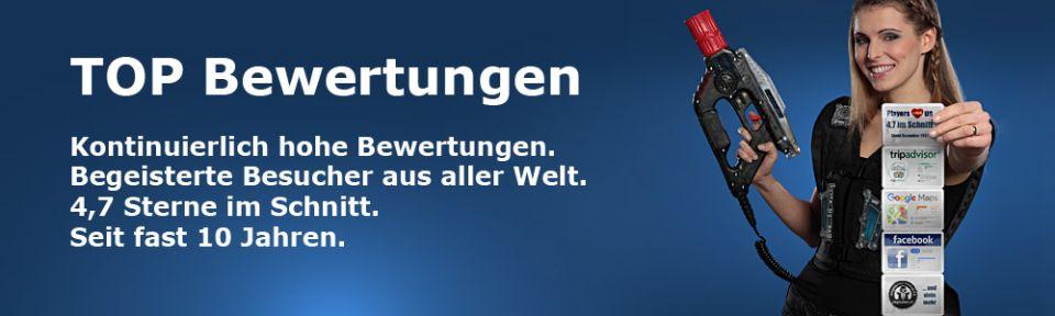 Lasertag Berlin Bewertungen
