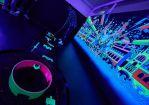 Schwarzlicht Minigolf Glowgolf inStarGolf Berlin 6
