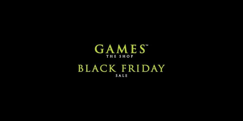 Games The Shop - Black Friday Sale