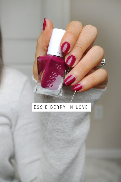 Essie Gel Couture Berry In Love (Week Long Wear), Free Shipping at ...