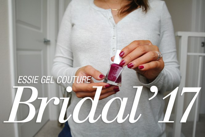 Essie Gel Couture Bridal 2017 Berry in Love