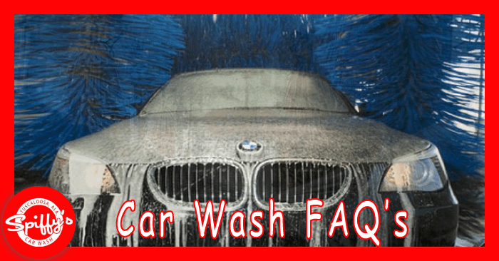 Spiffys car wash only full service car wash tuscaloosa al spiffys car wash faqs what types of vehicles can you wash solutioingenieria Gallery