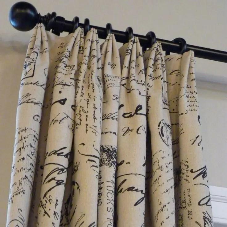 Euro Triple Pinch Custom Curtains