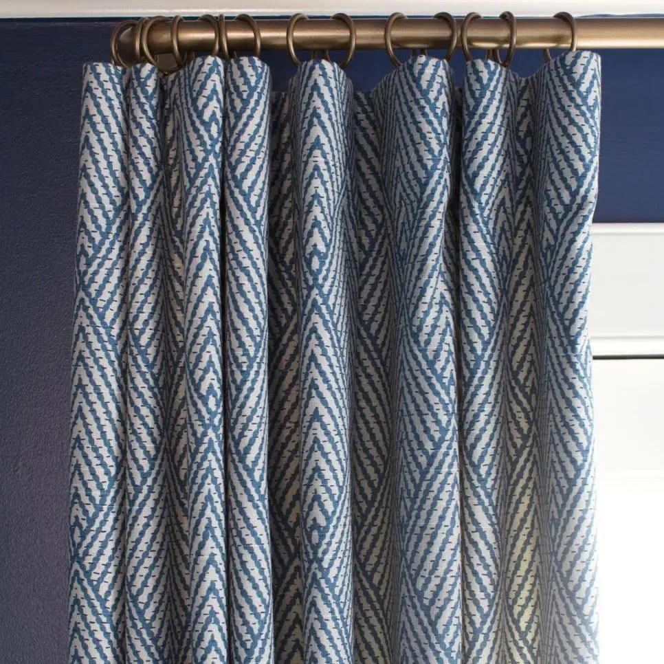 Flat Panel Top Custom Curtain