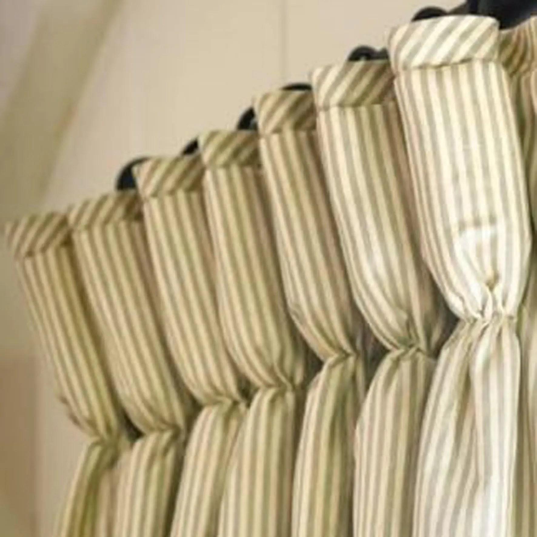 Striped Goblet Custom Drapes