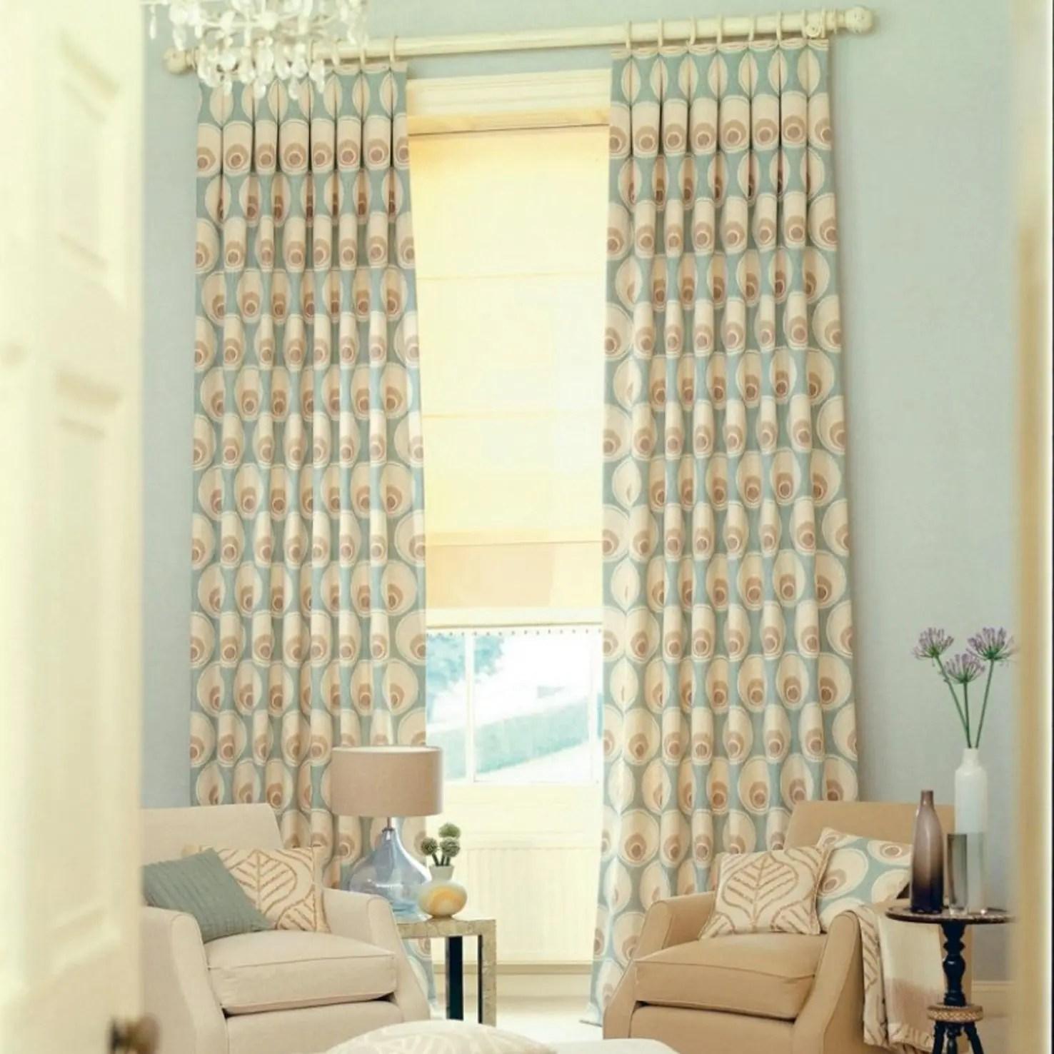 Living Room Custom Curtains