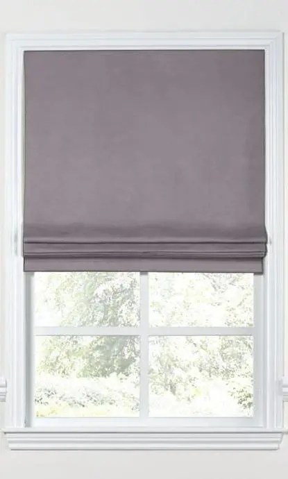 Plain Fake Roman Shades