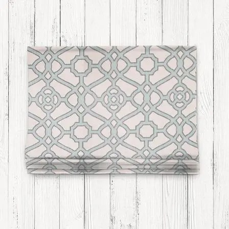 Grey & Beige Short Valance