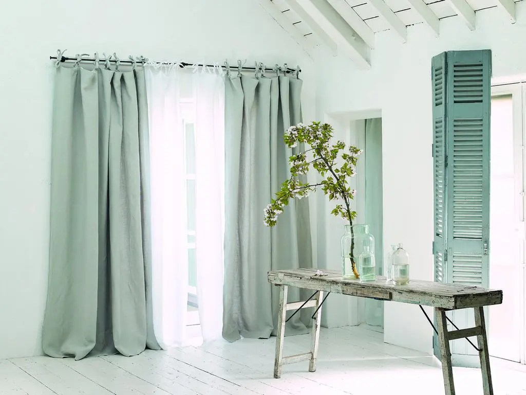 Tie Top Curtains For Bedroom