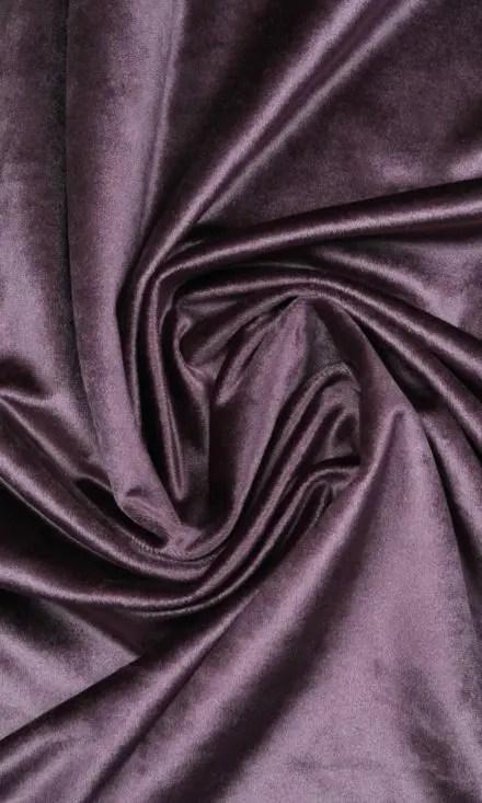 Purple Velvet Extra Long Custom Drapes