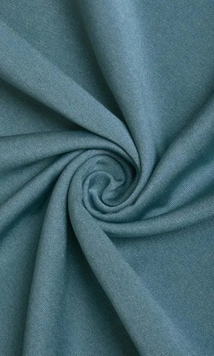 BLUE BLACKOUT CUSTOM SIZE WINDOW DRAPES (BLUE)