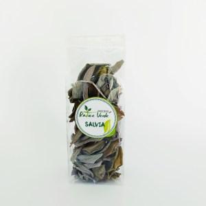 foglie di salvia essiccate