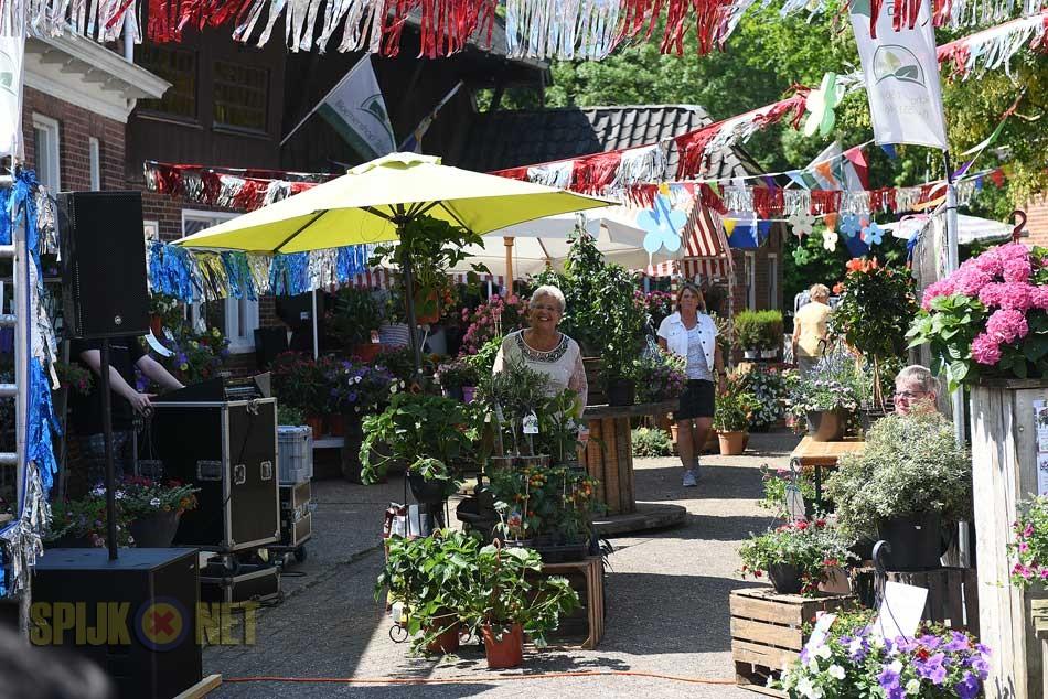 Bloemetjesmarkt in Spijk