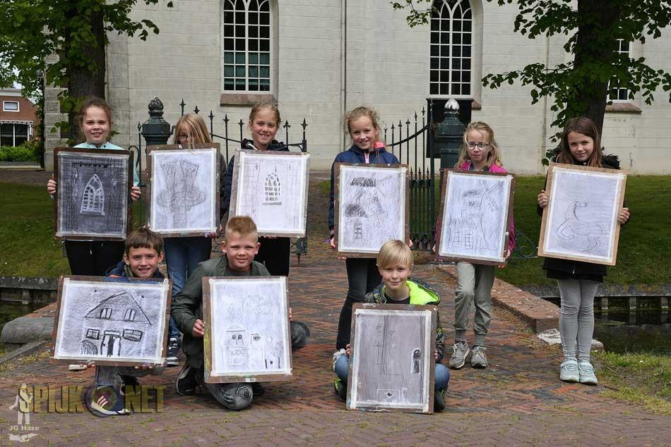 Leerlingen Fiepko leggen mooiste plekken in Spijk vast
