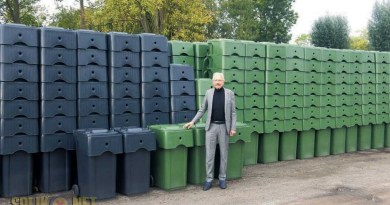 nieuwe containers afval