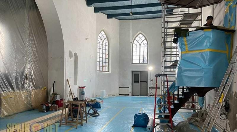 restauratie kerk
