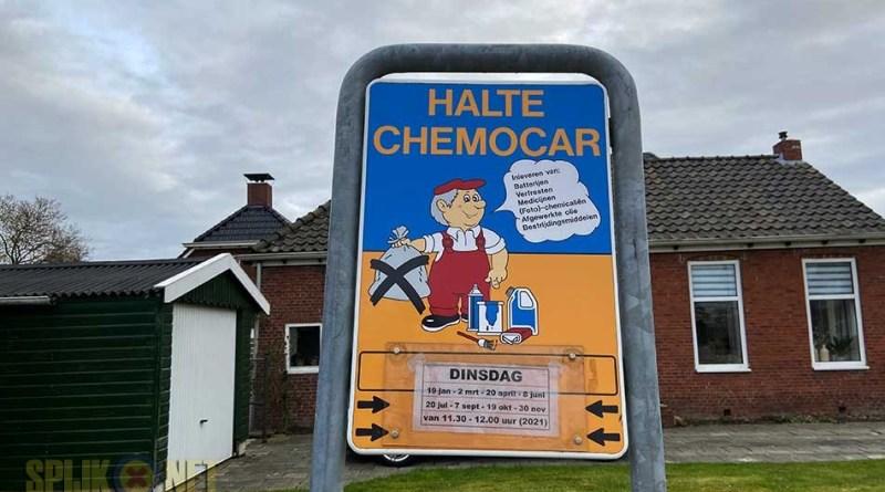 halteplaats- chemokar