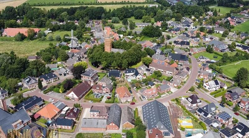 luchtfoto's Spijk Dennis de Groot