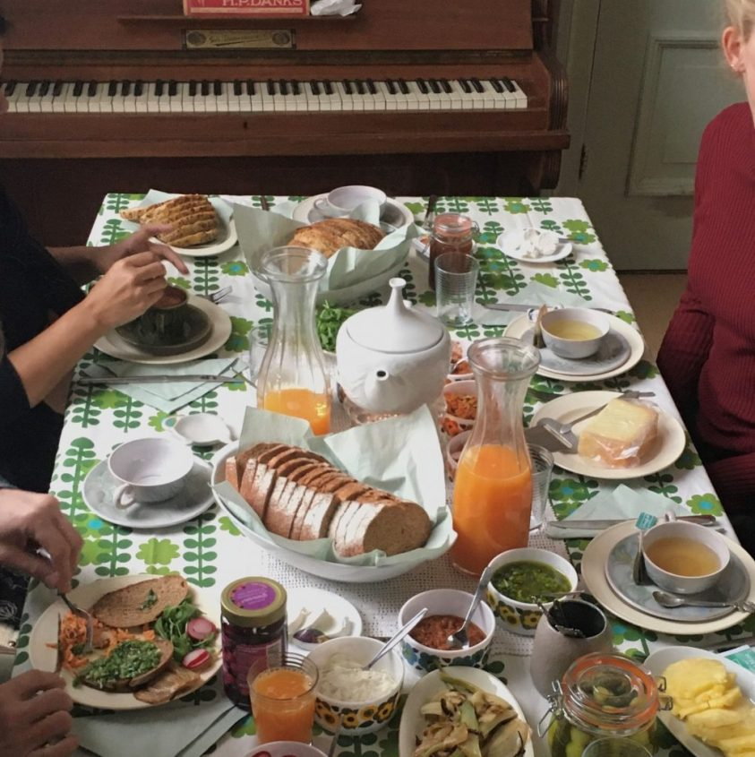 Birgit en Jenny direct op hun gemak : )