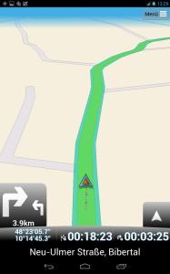 Navigation mit MapFactor