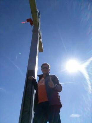 Gipfelkreuz Hahnenkamm
