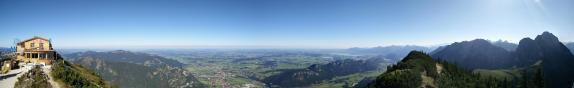 Panorama bei der Ostlerhütte
