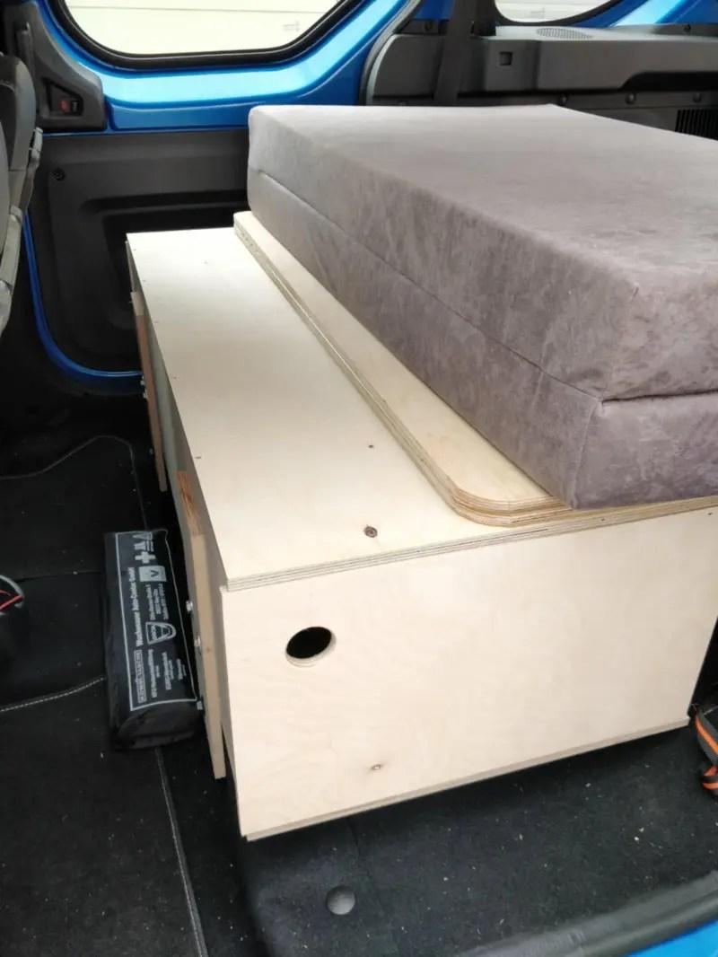 Dacia Dokker Zusatzbox für Campingbox