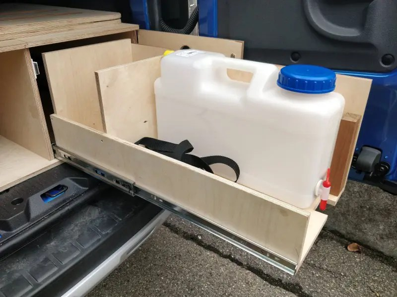 Wassermodul rechts