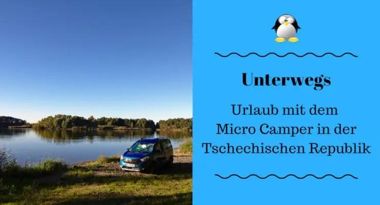 Artikelbild Urlaub mit dem Micro Camper in der Tschechischen Republik