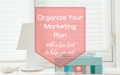 Organize Your Marketing Plan