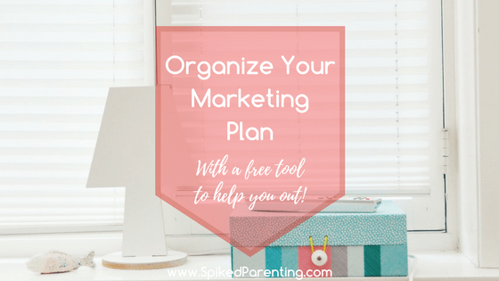 Organize Your Marketing Plan