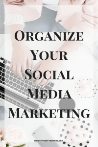 Organize your social media marketing. Tabs for Facebook, Twitter, and Pinterest!