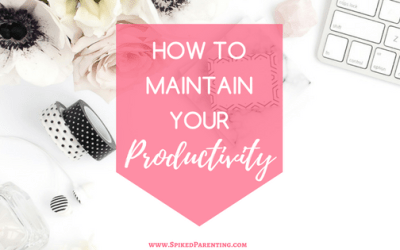 How to Maintain Your Productivity