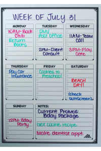 Board Weekly Planning