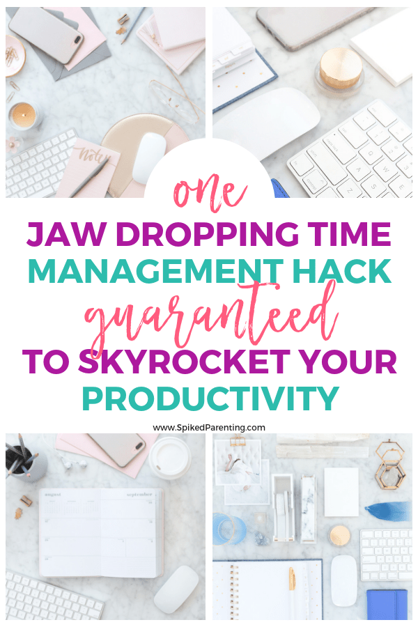 One jaw dropping time management hack guaranteed to skyrocket your productivity!