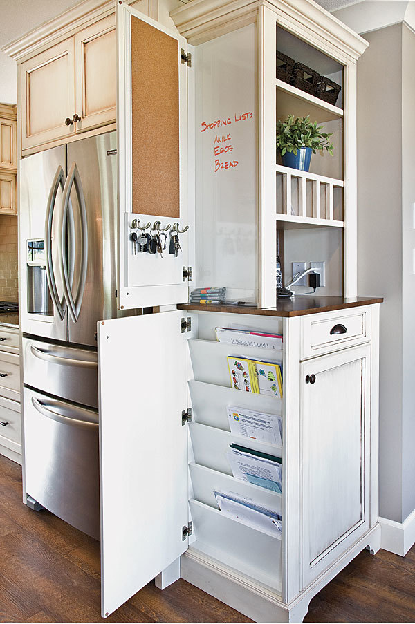 Clever Cabinet Kitchen Command Center