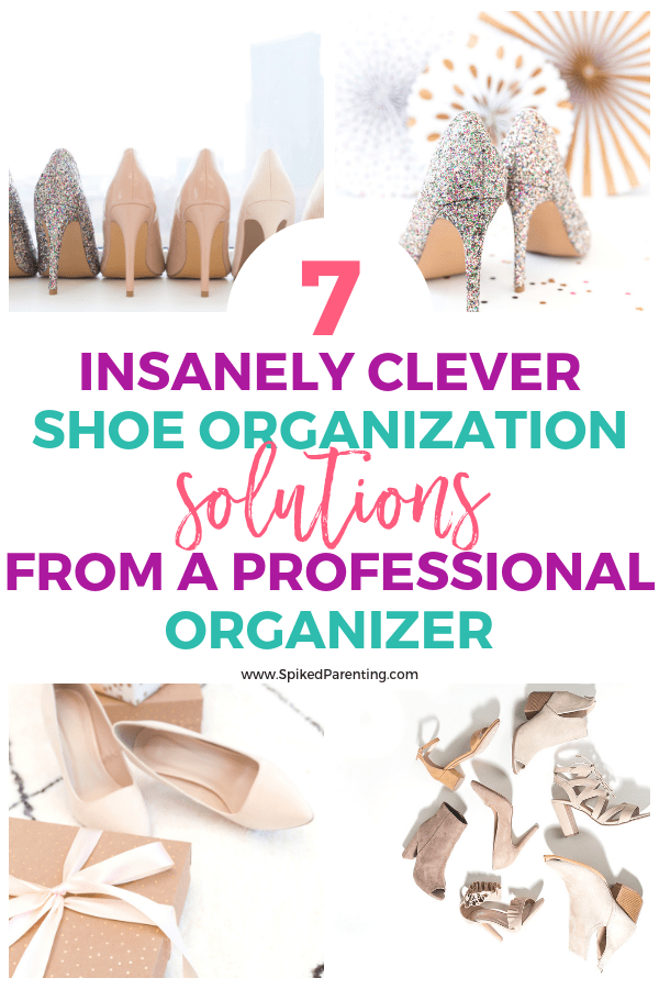 7 Insanely Clever Shoe Organization Solutions Straight from a Professional Organizer | SpikedParenting