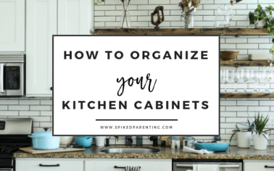 How to Organize the Kitchen Cabinets  Storage Tips for Cabinets